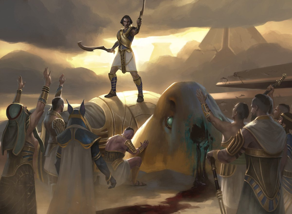 test Twitter Media - Life Goes On from Hour of Devastation was previewed today. Poor Rhonas. ;___; #MTGHOU #rhonas #amonkhet https://t.co/9wxSEZ5mx0 https://t.co/pri4OjVPnV