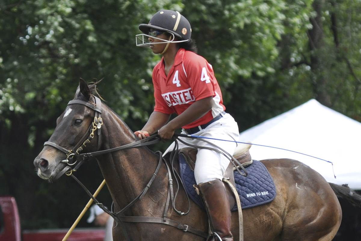 This college student will make history as the first Black woman in a top-tier polo event