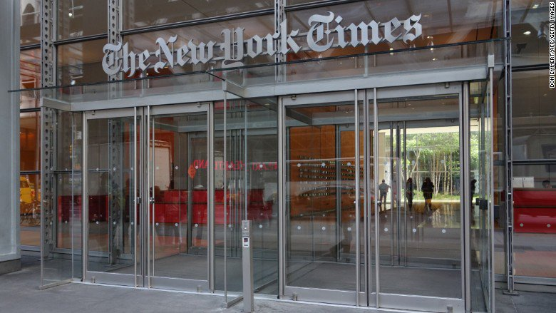 New York Times staffers stage walkout in support of copy editors