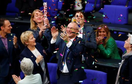 German parliament votes to legalize same-sex marriage