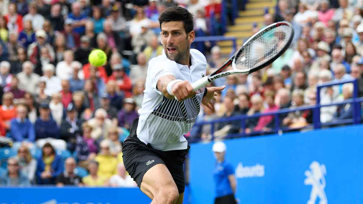 3-time titlist @DjokerNole will challenge Martin Klizan in @Wimbledon 1R. https://t.co/DAVeoZPlQJ https://t.co/iByUn5Ejfy