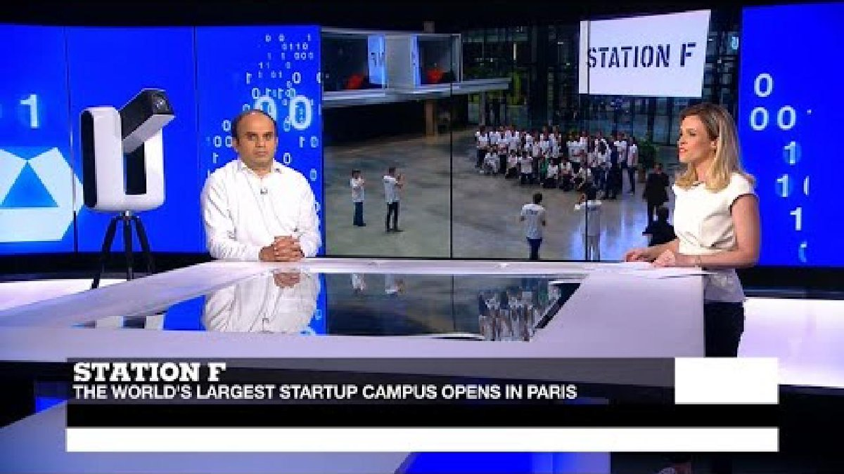 ?? Station F: World's largest startup incubator opens in Paris