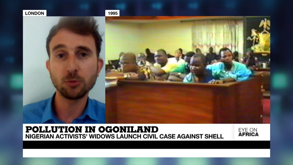 EYE ON AFRICA - Four widows of Nigerian activists launch civil case against Shell