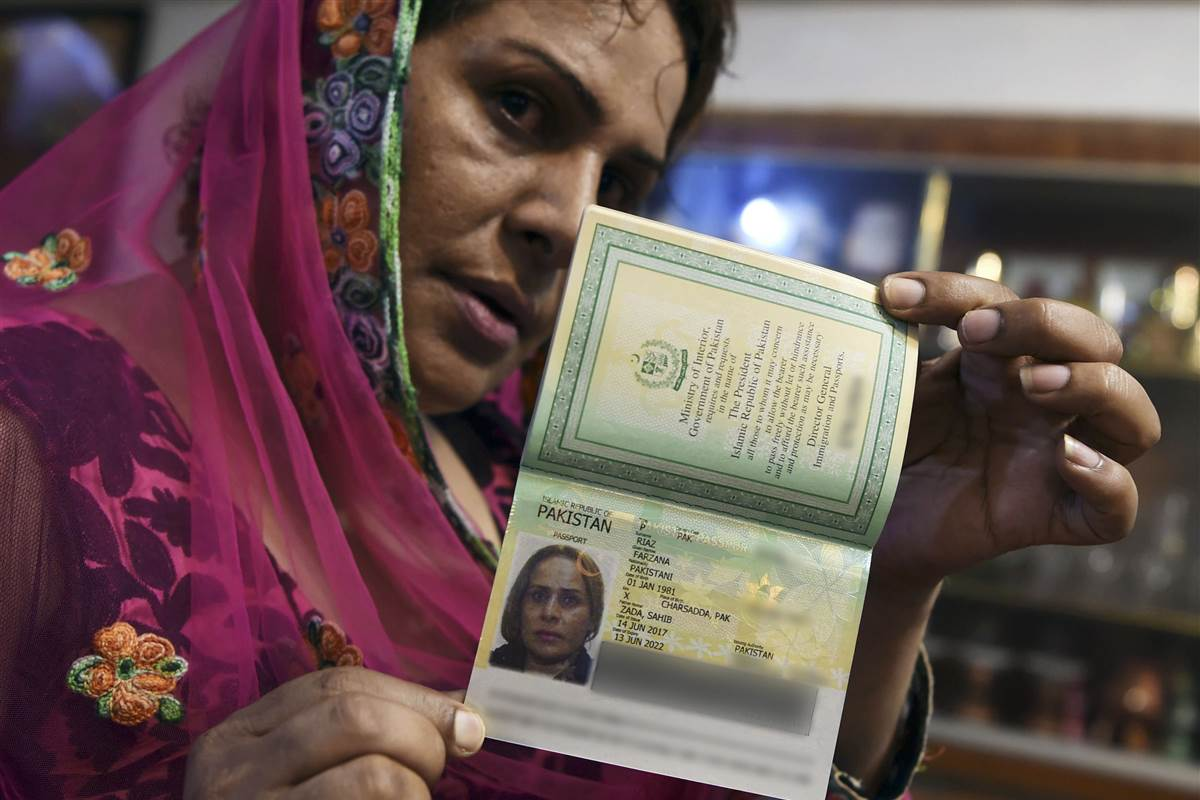 Pakistan issues its first transgender passport via @NBCOUT