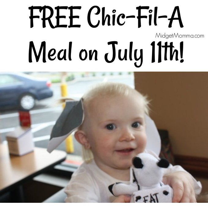 It is ChickfilA Cow Appreciation Day on July 11th!!!! Get a FREE Meal! deal freebie Food