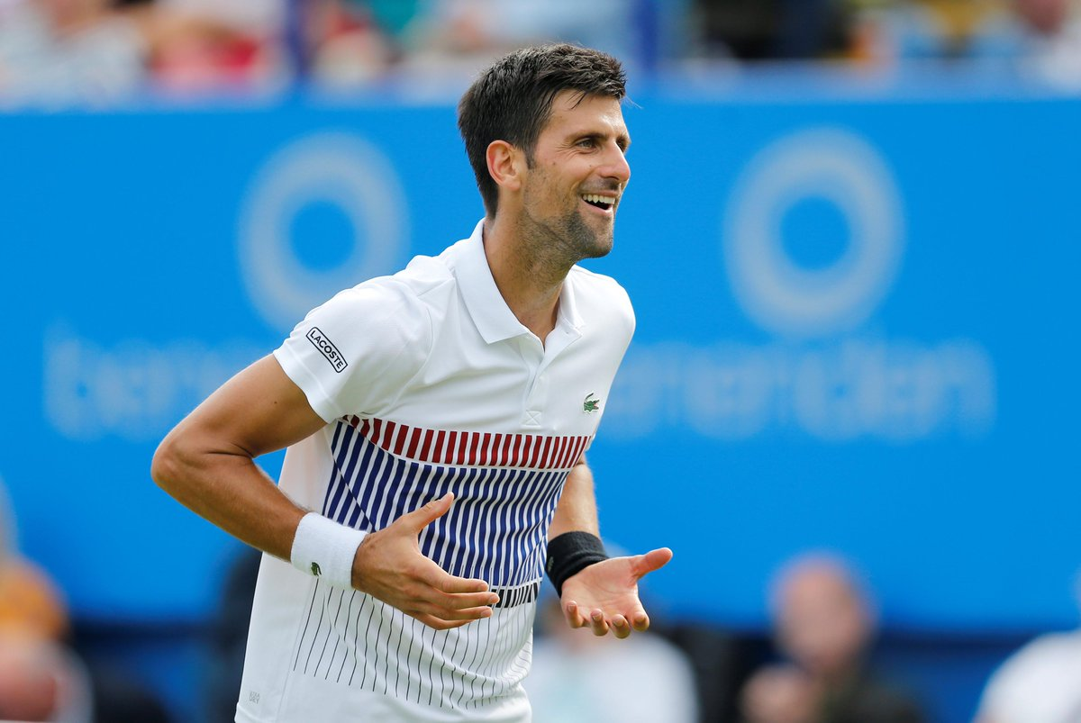 Eastbourne: Novak Djokovic sails into final after comfortable win against Daniil Medvedev