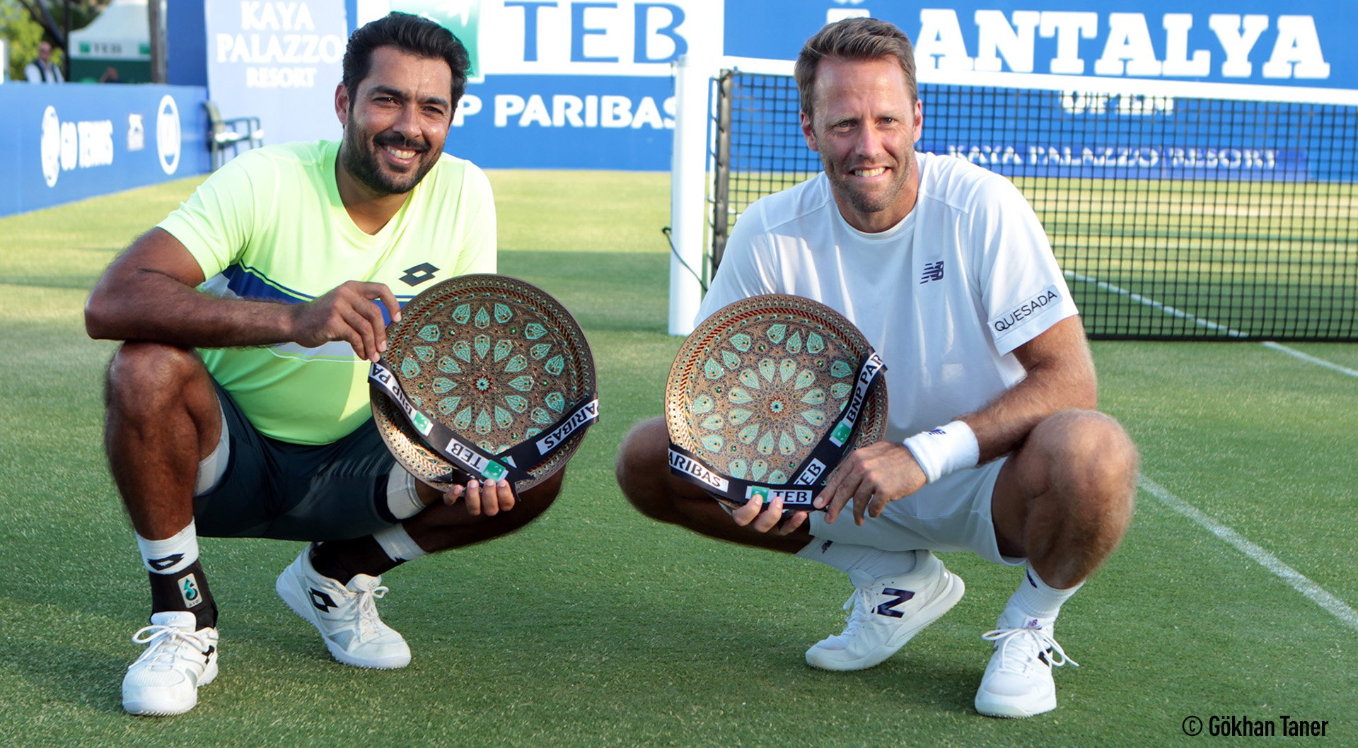.@aisamhqureshi & Robert Lindstedt claim the inaugural @antalyaopen doubles ��! Read: https://t.co/fjGa9cfQyW https://t.co/69NjfxzkWj