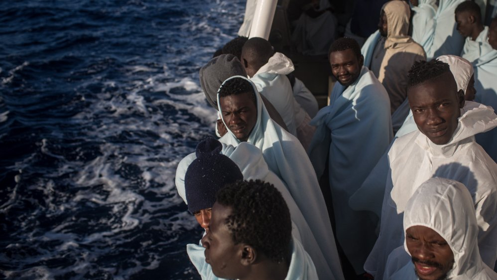 At least 60 people feared dead after boat sinks off Libya coast