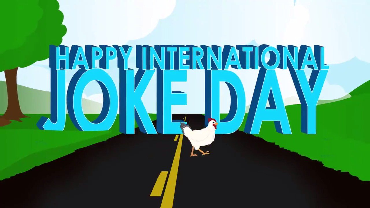 It's #InternationalJokeDay! That's right, this Joke Day is celebrated from coast to coast! https://t.co/FenWjIZGhh