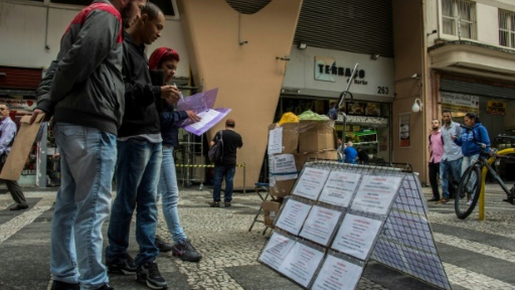 Unemployment drops in Brazil to 13.3 percent