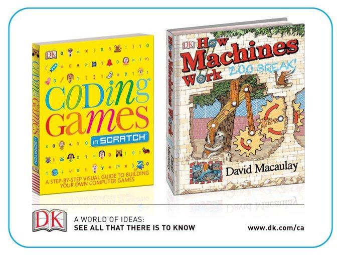 #WIN DK coding games & machine books [7/13]