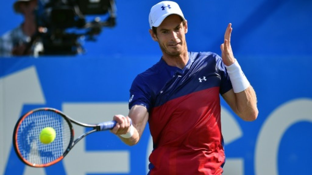 Andy Murray aims to be fighting fit for Wimbledon defence