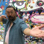 Artist Takashi Murakami says 'Konnichiwa' to Boston