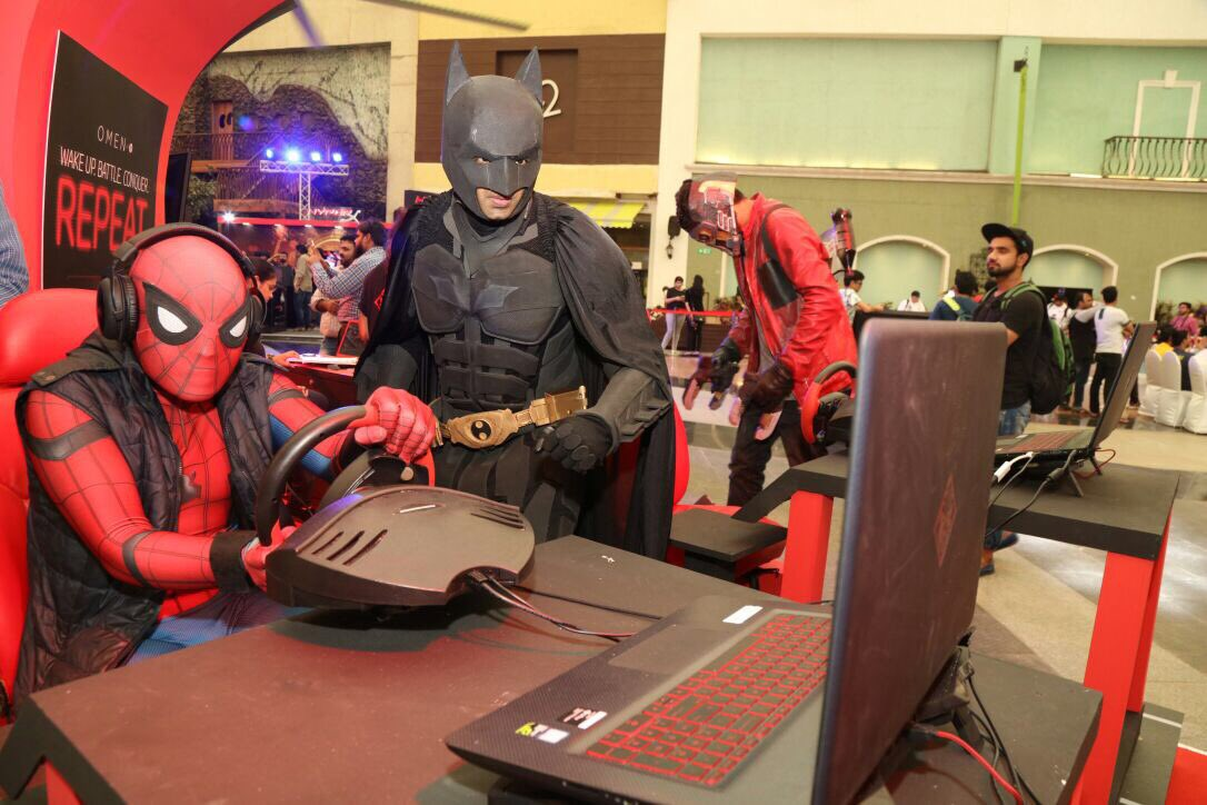 Guess who s trapped in the web of power packed gaming performance of the Omen By HP beast DominateTheGame https ...
