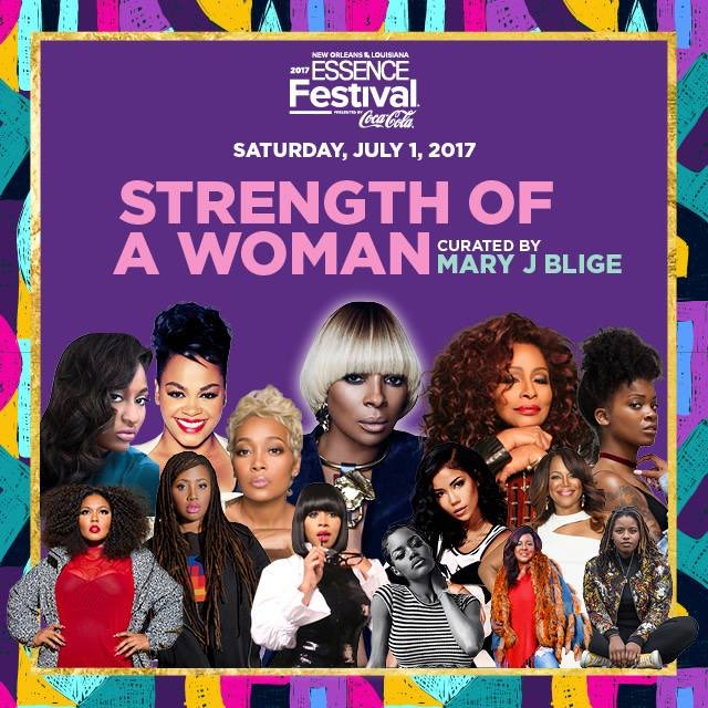 #ESSENCEFest2017 #StrengthOfAWomanNight https://t.co/QcuWW7HLuW
