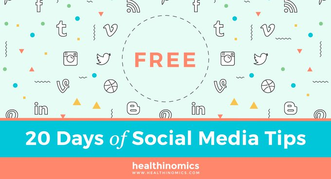 FREEBIE   Get 20 Days of Social Media Tips for Free  freebie
