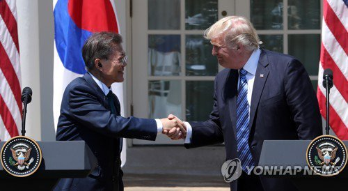 (4th LD) Trump vows to seek new trade deal with S. Korea