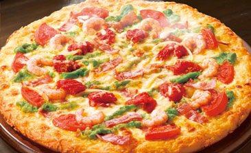 test ツイッターメディア - ●「アボカド・シュリンプ」 アボカドを使用した、鮮やかで濃厚なソースの味わい抜群のピザ! 販売:ピザハット https://t.co/EGicPiuJLV