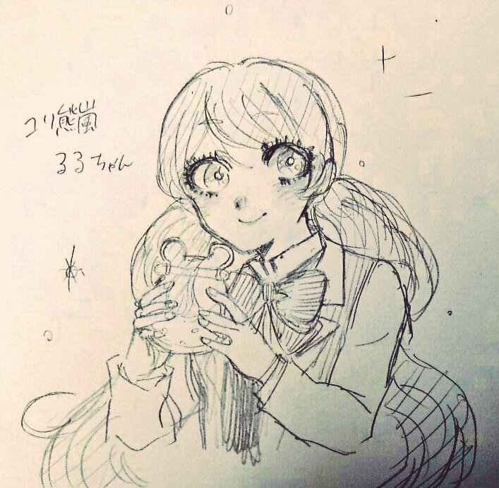 ユリ熊嵐面白かったです。ルルちゃんが一番好きです。ほんとに...いい子すぎる...