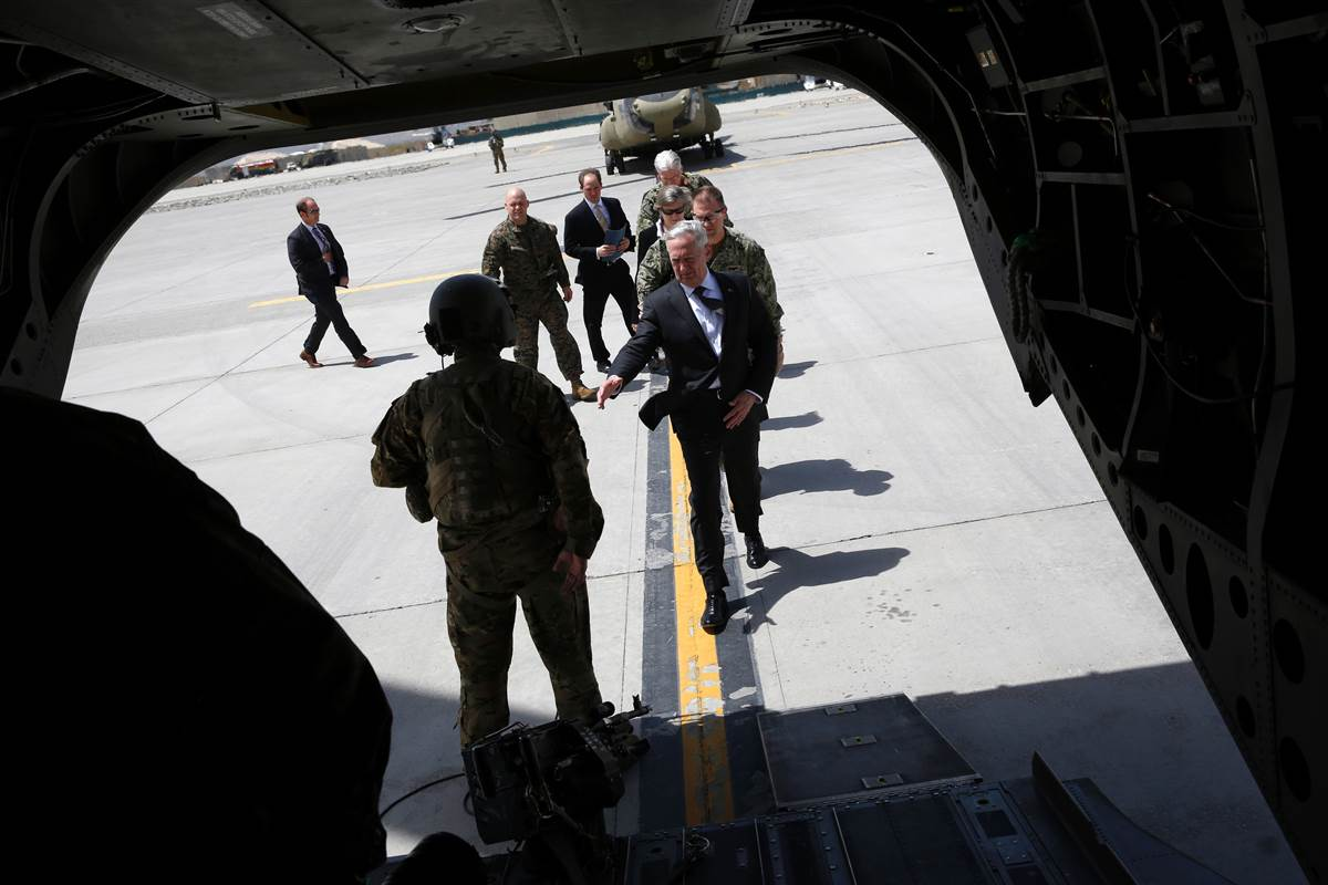 Pentagon considering an expanded and more aggressive role in Afghanistan