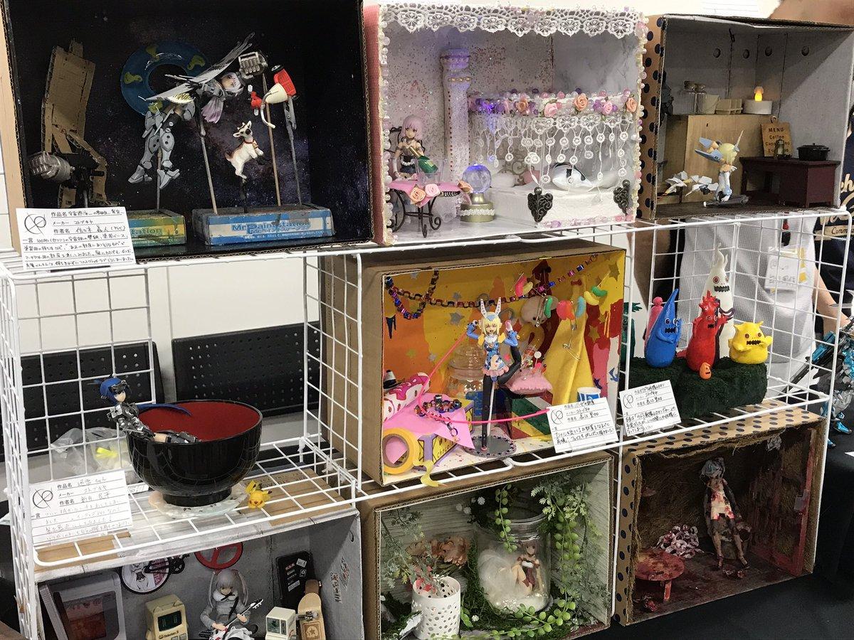 #秋工祭 に行ってきましたよ!ガンダムなどロボ系プラモが多いですが、FAガールとか美少女フィギュアもちょこちょこありまし