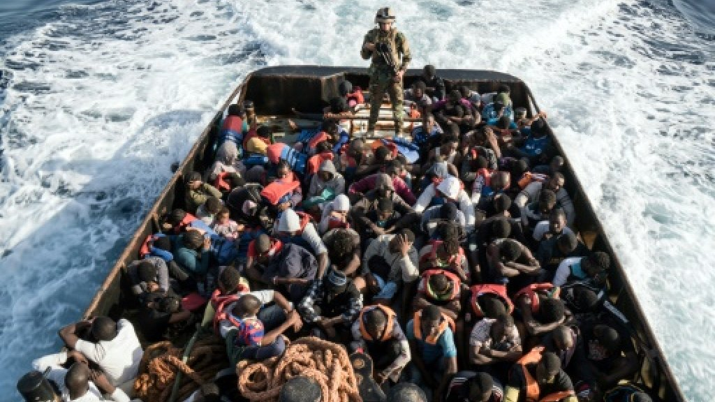 Talks in Paris on Sunday on Italy's migrant crisis
