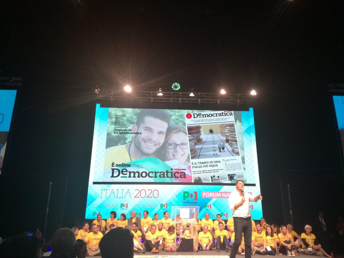 #Democratica va diffuso online anche su WhatsApp #avantinsieme #Italia2020 https://t.co/vzCK43V3aL