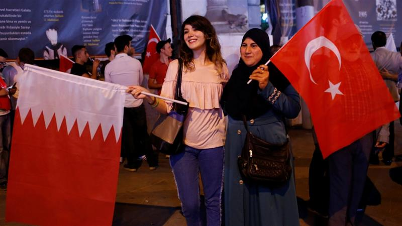 Turkey urges 'respect of Qatar rights' to end Gulf rift