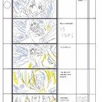 絵コンテ練習51 題材「PS Vita うたわれるもの 二人の白皇」