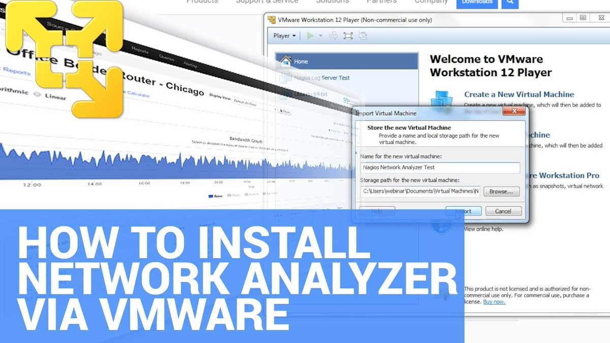 How to install Nagios Network Analyzer on Windows using VMware - Dauer: 2 Minuten, 12 Sekunden