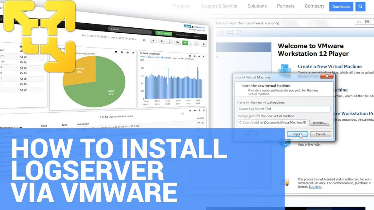 How to install Nagios Log Server on Windows using VMware - Dauer: 2 Minuten, 13 Sekunden