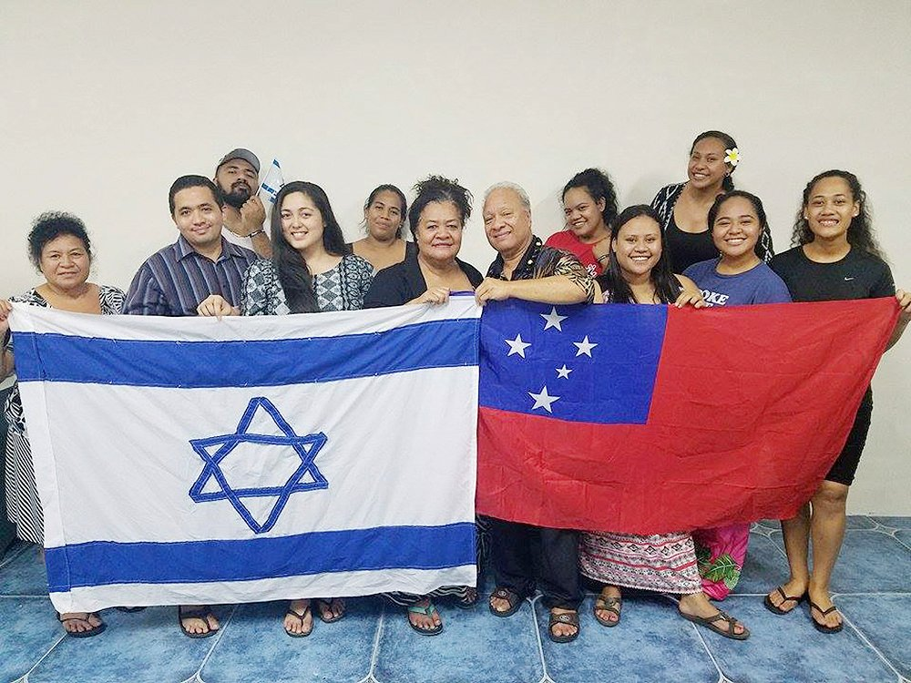 Group honours 'divine invitation' to Israel