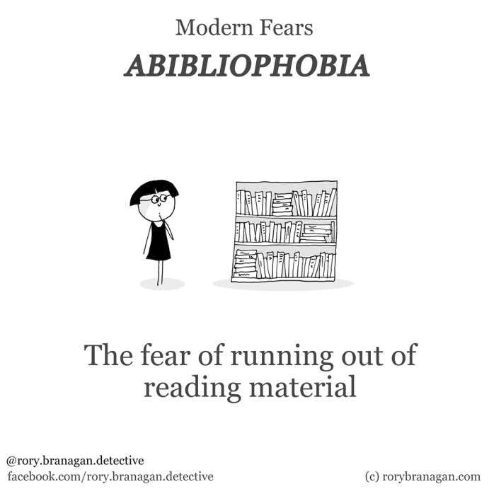 A #bookworm's fears https://t.co/fFRdqCuciE