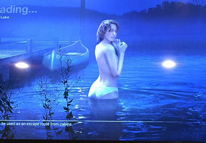 Hottest load screen ever heh heh @Friday13thGame https://t.co/u5oXNci19y