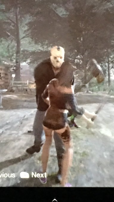 Death becomes her @Friday13thGame https://t.co/Iorx9mL7WC