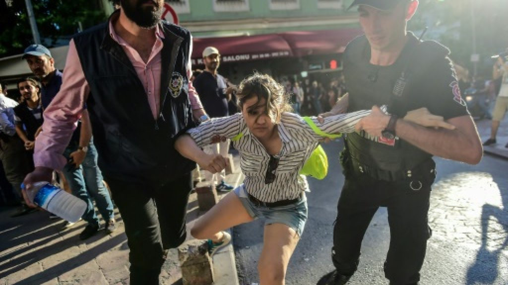 Turkey bans Trans Pride march in Istanbul but organisers defiant