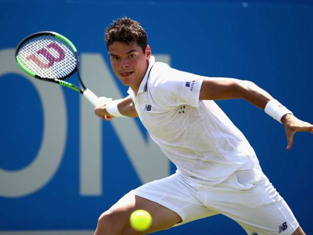 Milos Raonic, eyeing repeat run to final, headlines deep crop of Canadians at