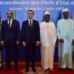 Emmanuel Macron au Sahel pour mettre en place une force antijihadiste