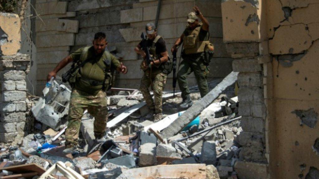 Iraq forces retake hospital near Mosul's Old City