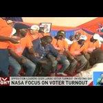 NASA leaders seek large voter turnout on voting day