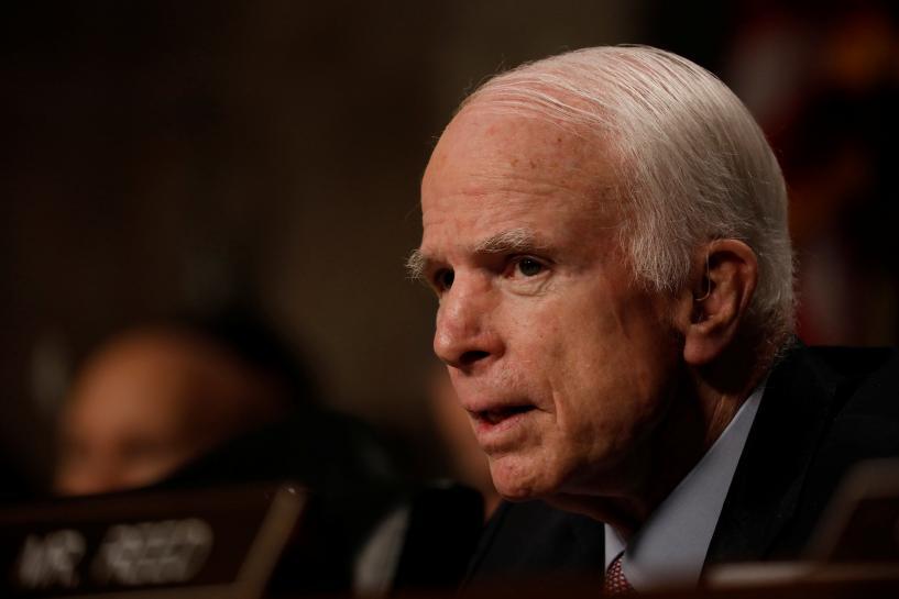 No regional peace without Pakistan, U.S. senator McCain says in visit