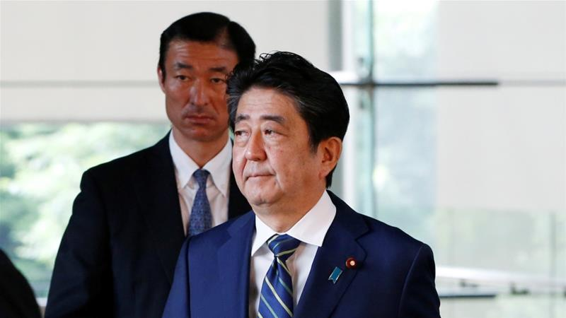 Japan PM Shinzo Abe's party suffers historic defeat in Tokyo poll