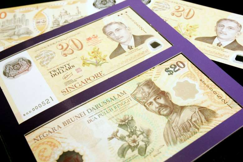 50 years of strong Brunei currency in Singapore
