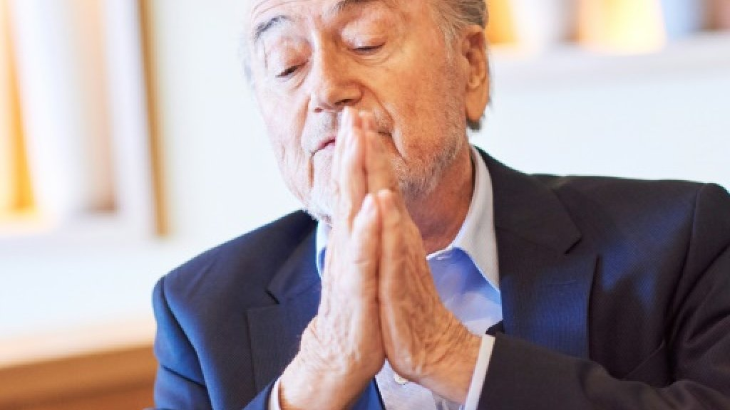 Blatter regret at overstaying FIFA tenure