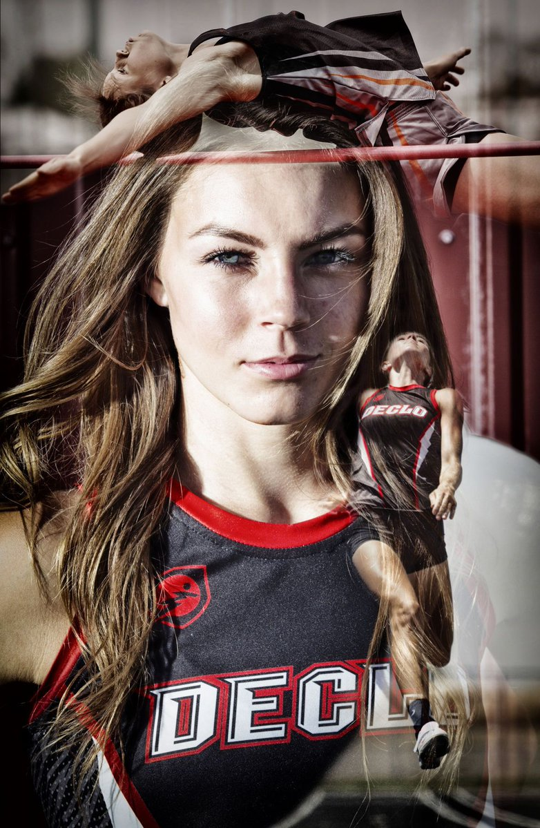 Courtney Christopherson, Times-News female track athlete of the year, cleared every hurdle