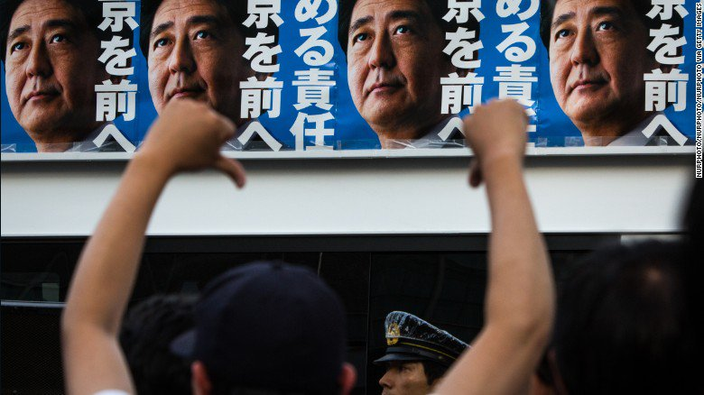 Japan's ruling party suffers big losses in local Tokyo elections