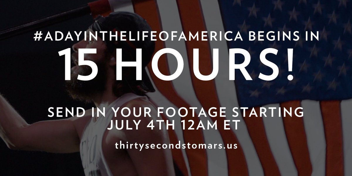 15 HOURS. #ADayInTheLifeOfAmerica https://t.co/knO82tZX20 https://t.co/aQW635jC6y