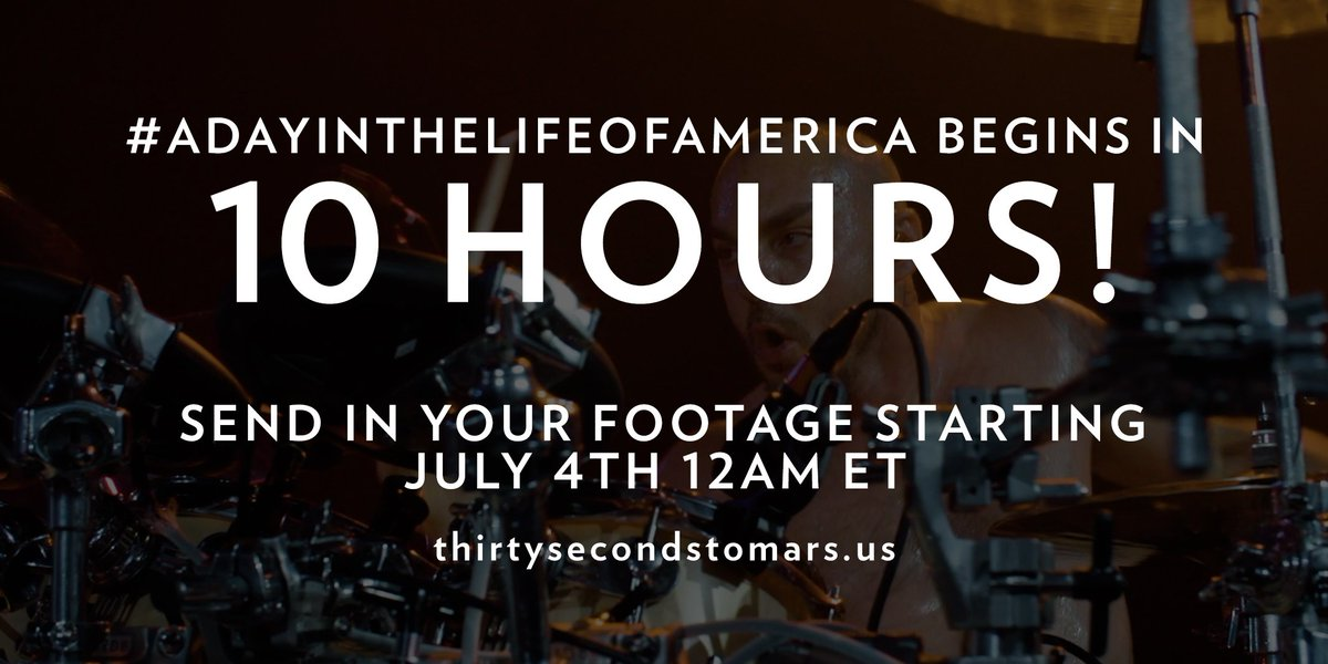 10 HOURS. #ADayInTheLifeOfAmerica https://t.co/knO82uhxTy https://t.co/MX7AHAtJmI