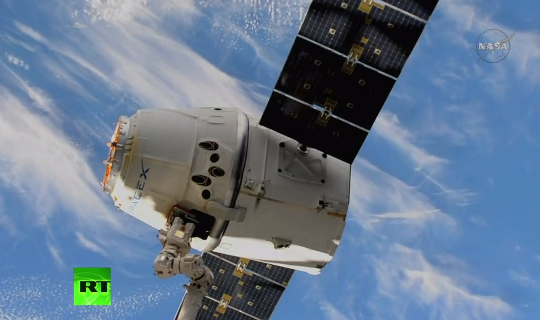 LIVE: SpaceX Dragon cargo ship leaves Intl Space Station