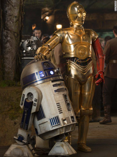 A complete R2-D2 unit from 'Star Wars' fetched $2.75 million at a California auction